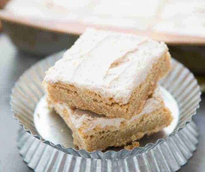 How to make browned butter blondies