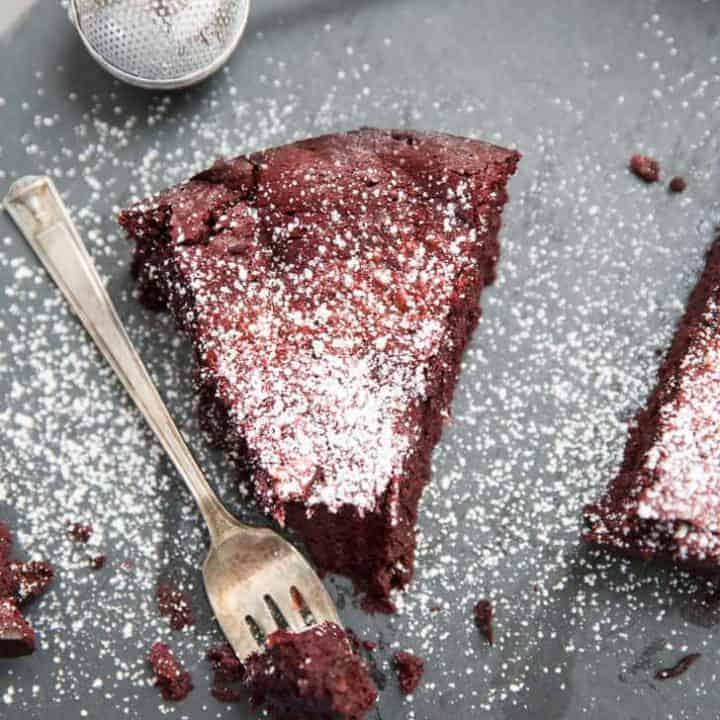 Easy flourless cake recipe