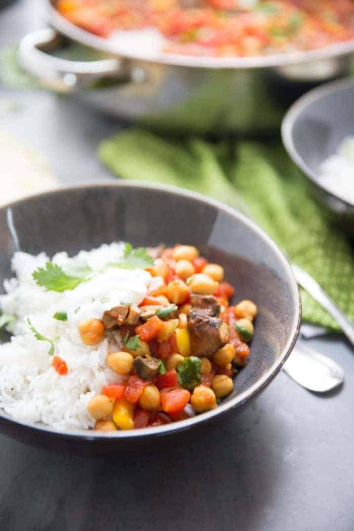 vegetarian tikka masala recipe