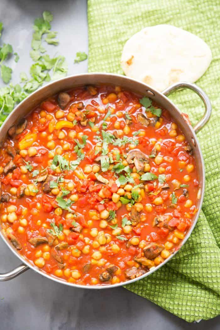 easy vegetarian tikka masala
