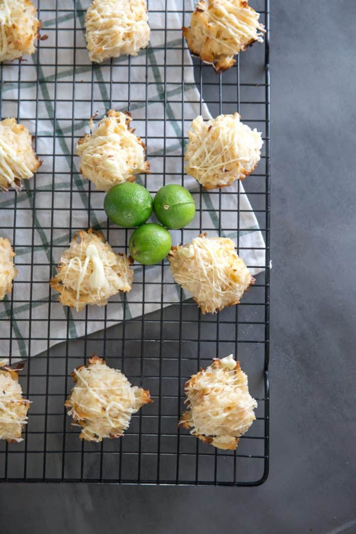 coconut macaroon cookies foursome