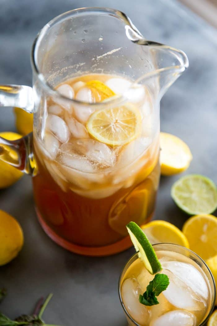 Iced tea recipe pitcher