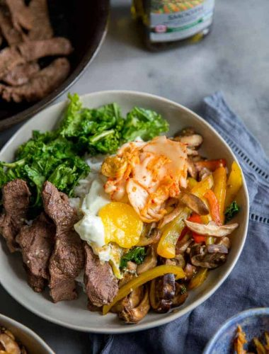 Bibimbap one bowl
