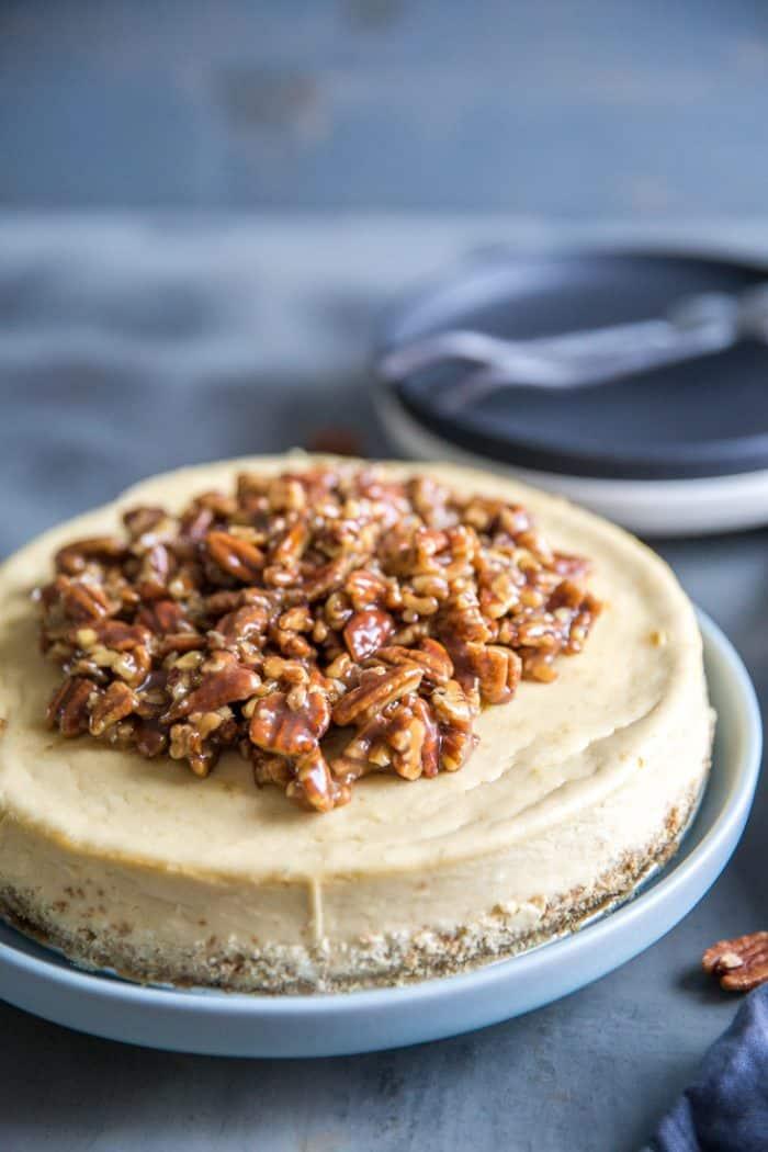 peca pie cheesecake whole