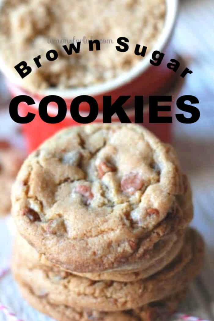 Brown Sugar Cookies title
