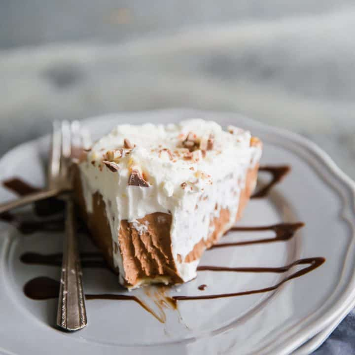 hot chocolate pie bite taken out
