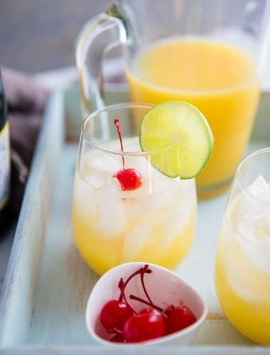 Pineapple Rum Punch Mimosa Recipe