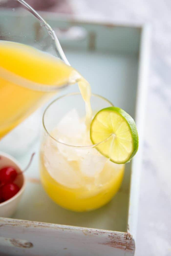 pineapple rum punch mimosa recipe