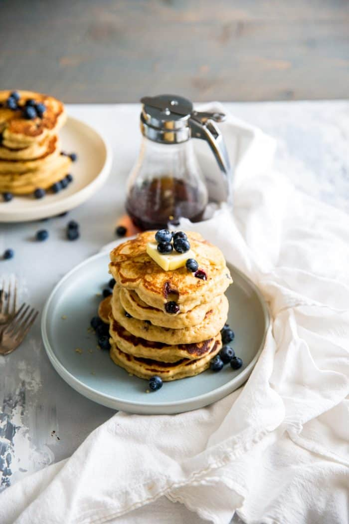 pancake recipe stack