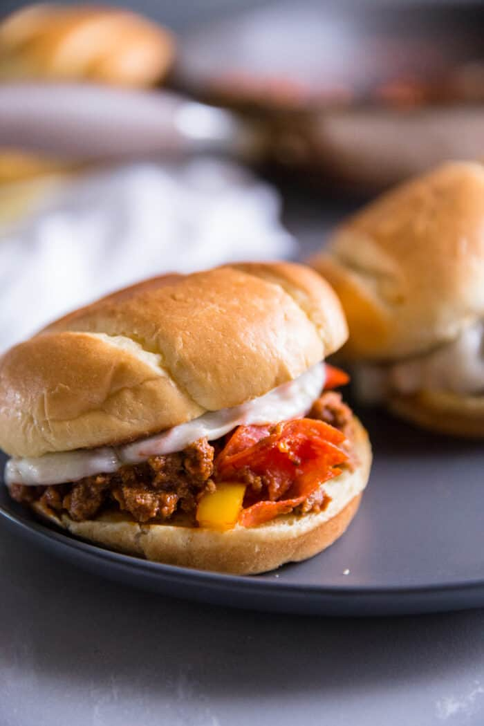 Pizza sloppy joe