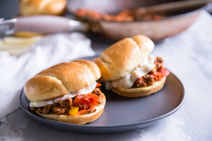 two sloppy joes