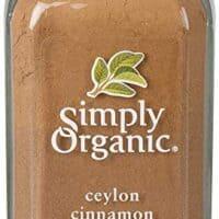 Simply Organic Ceylon Cinnamon, Ground   Certified Organic   Kosher Certified   2.08-Ounce Glass Bottle