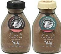 Silly Cow Farms Sampler Pack of Hot Chocolate 16.9oz Glass Jar (Variety Pack of 4 Different Flavors)