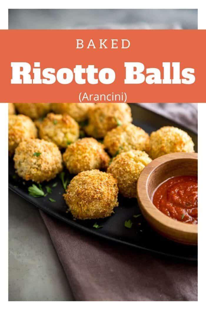 Risotto balls title image