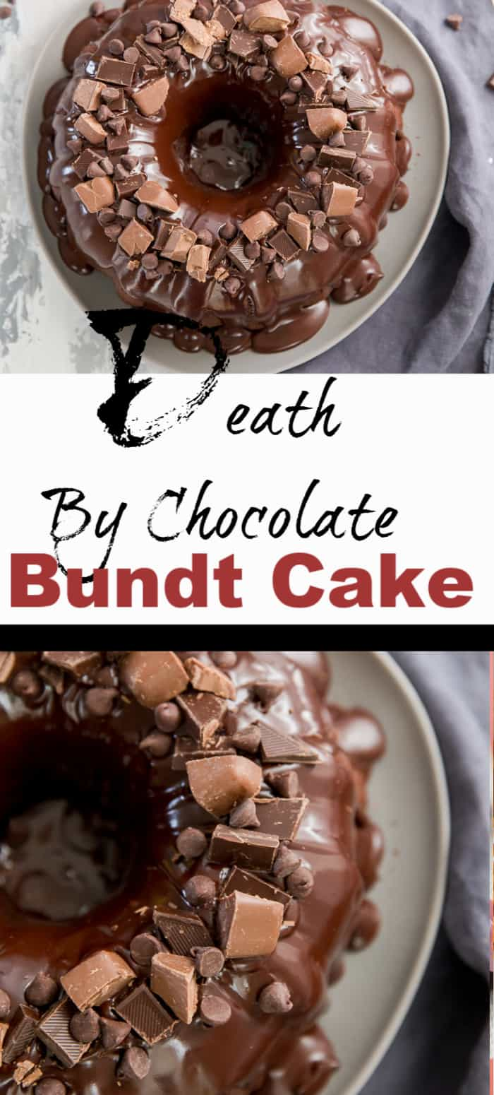 A death by chocolate title image