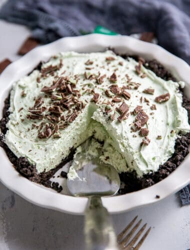 Cut grasshopper pie