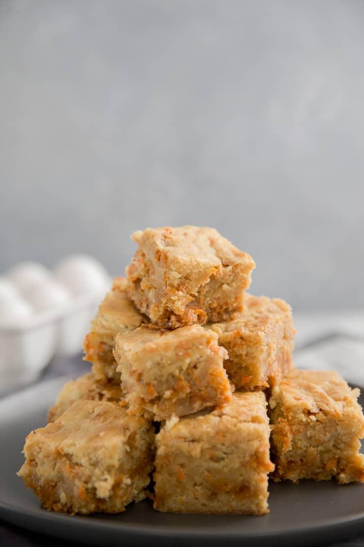 blondie brownie squares