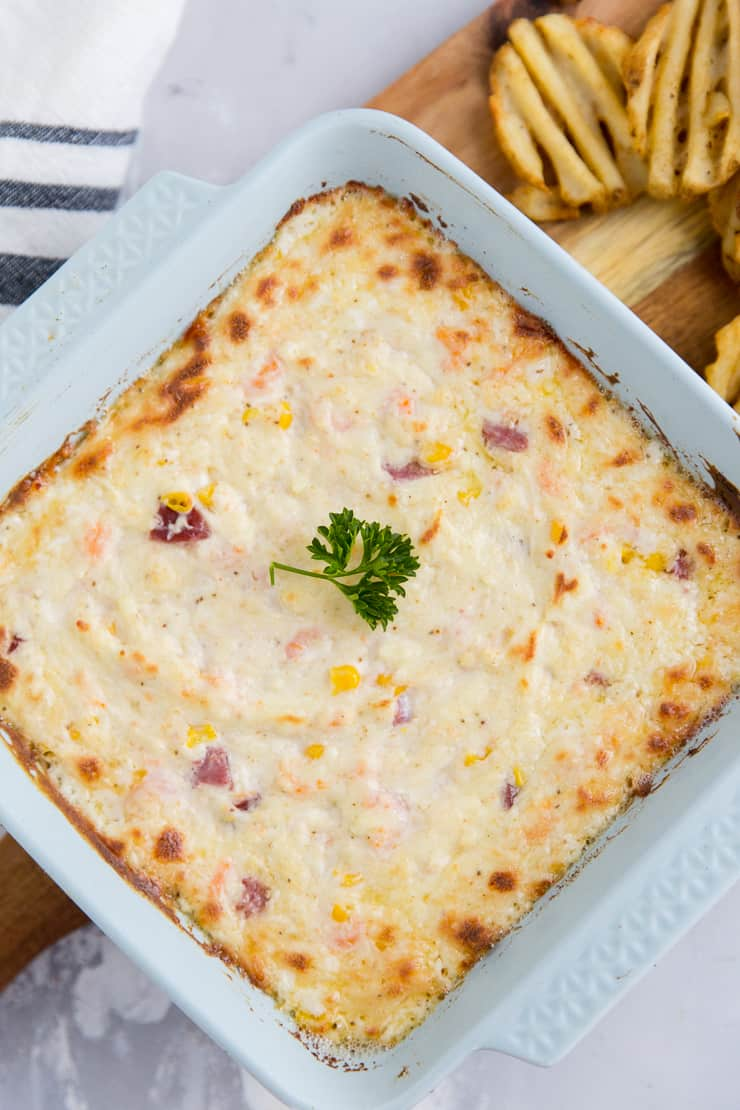 Low country boil shrimp dip baked