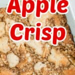 apple crisp title photo