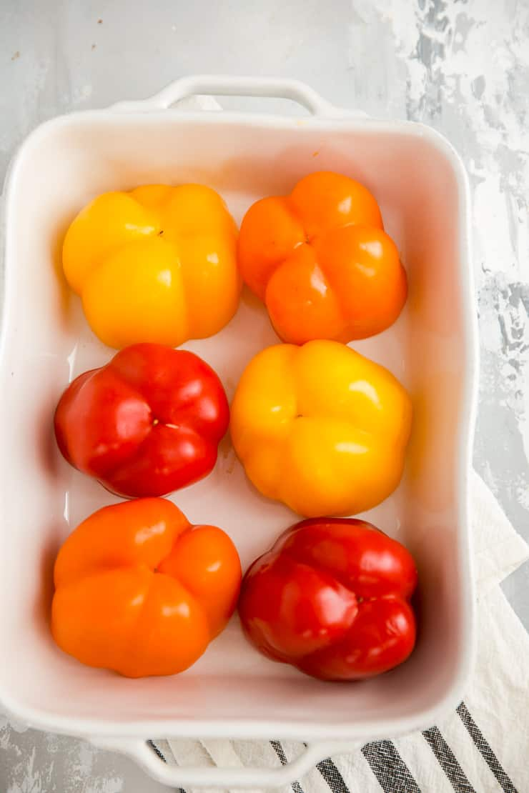 unfilled stuffed peppers