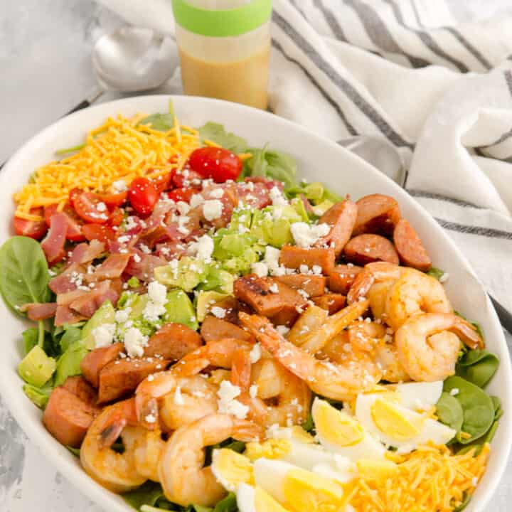 Shrimp Creole Cobb Salad