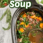 vegetable beef soup title