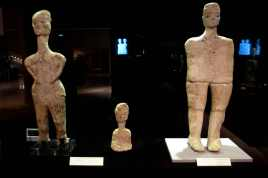 Ancient statues