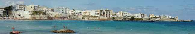otranto beach panorama