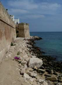 Monopoli city beach