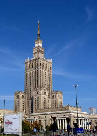 Communist era Palace of Culture