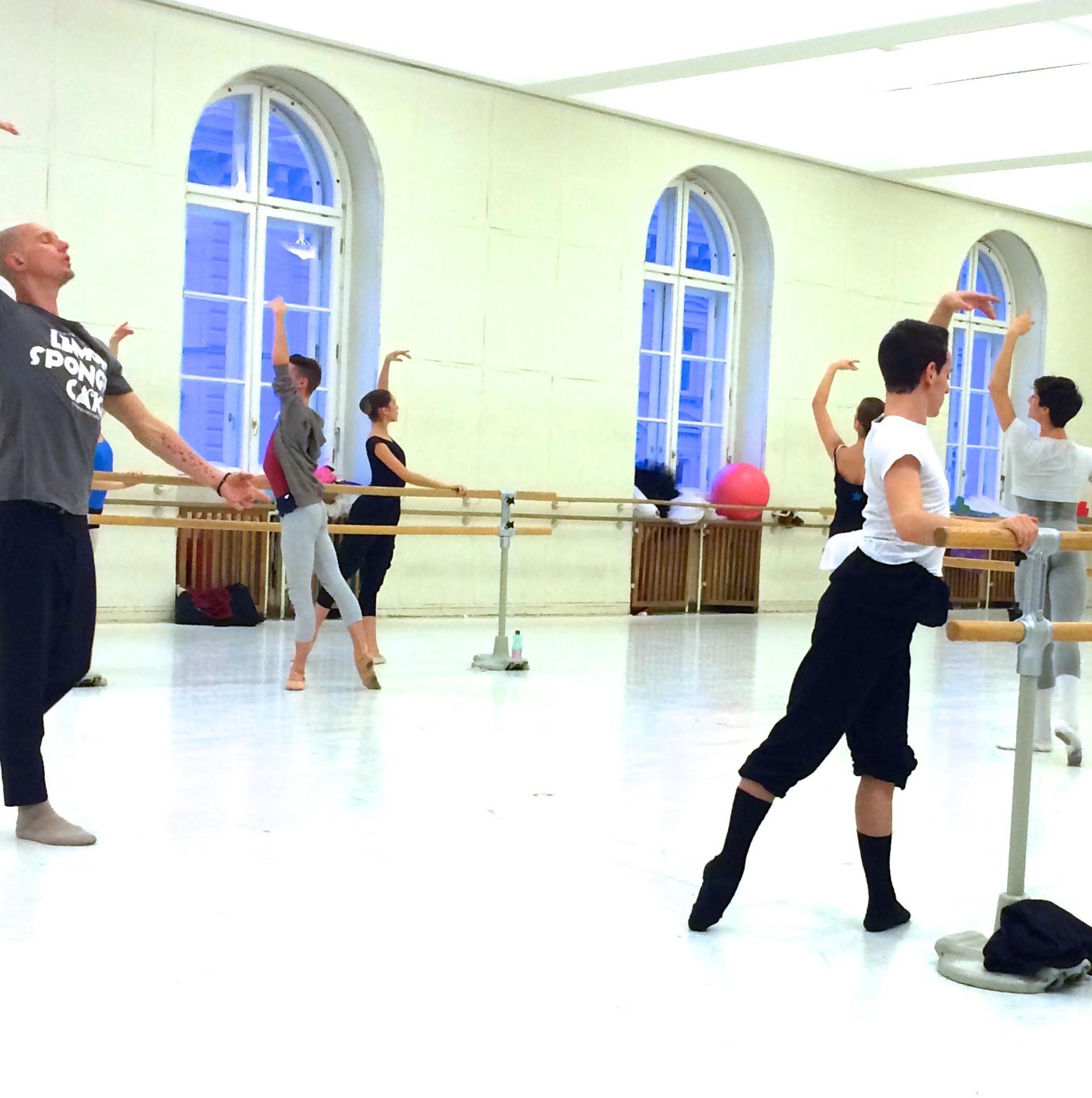 Lemon Sponge Cake Contemporary Ballet Robert Sher-Machherndl teaches ballet class with Robert Sher-Machherndl