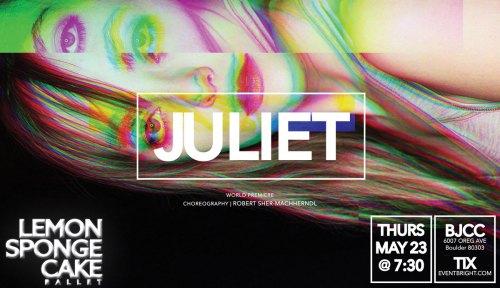 JULIET-Lemon Sponge Cake Contemporary Ballet