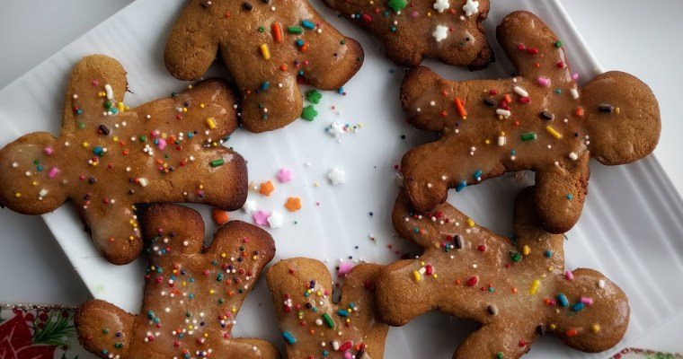 Holiday Gingerbread Cookies!