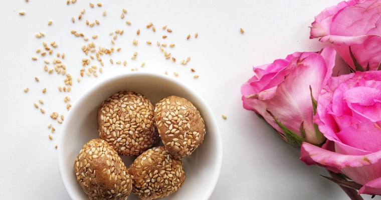 Raw Sesame Cookies!