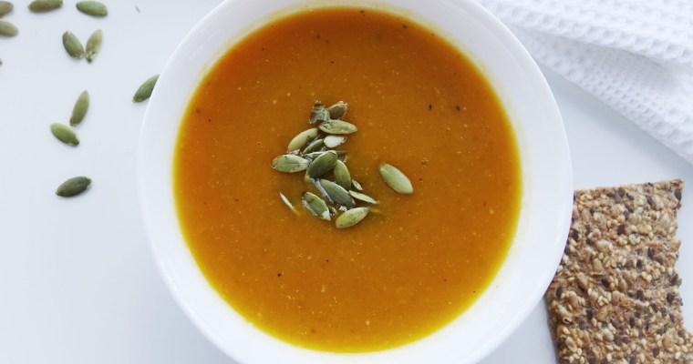 Simple Butternut Squash Soup