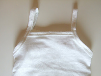 Tank Top, Square Neck Onesie Tutorial