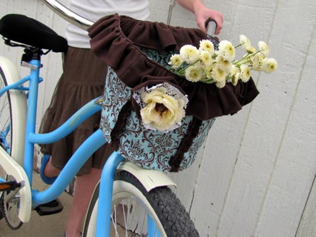 Vintage Bike Basket Tutorial