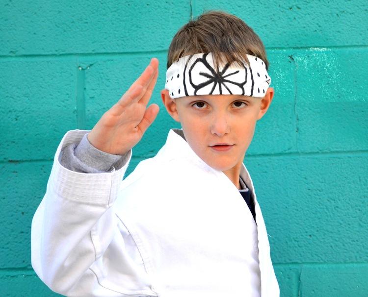 Karate Kid Headband:  Tutorial