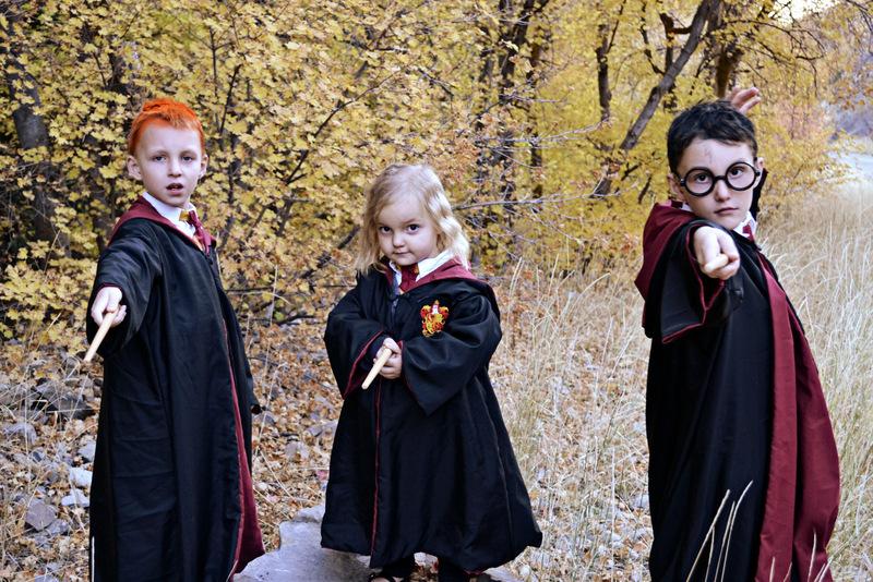 Happy Halloween! {Harry Potter Costumes}