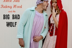 Little Red Riding Hood and the Big Bad Wolf {costumes}