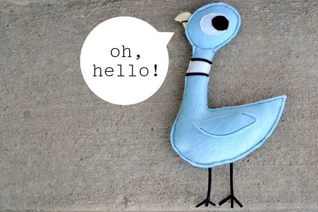 The Pigeon: Painting and Softie Tutorial (Mo Willems Character)