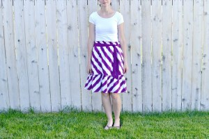 Little Dress to Skirt:  Mini Tutorial
