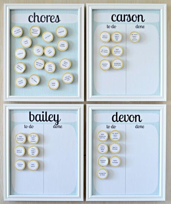 Chore Charts {diy}