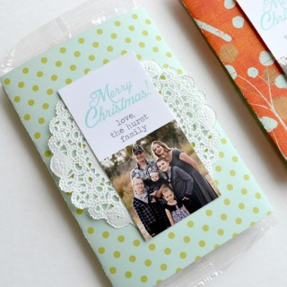 Wrapped Popcorn Gift // lemon squeezy home