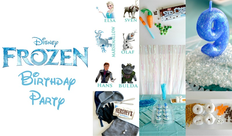 Disney's Frozen Party  {Simple and Affordable!}