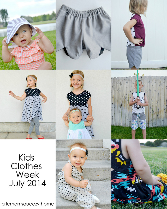 kids clothes week 2014 // lemon squeezy home