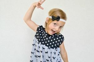 Pippa Peplum Pattern Remix with Girl Charlee Fabrics {+ tutorial}
