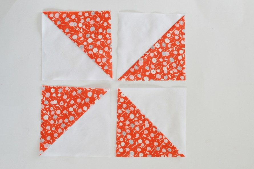 Super Simple Half Square Triangles: Tutorial