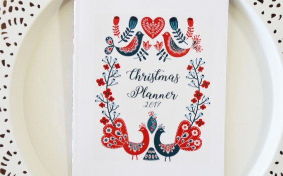 Christmas Planner 2017 Download // lemon squeezy home