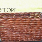 Wicker Basket Makeover